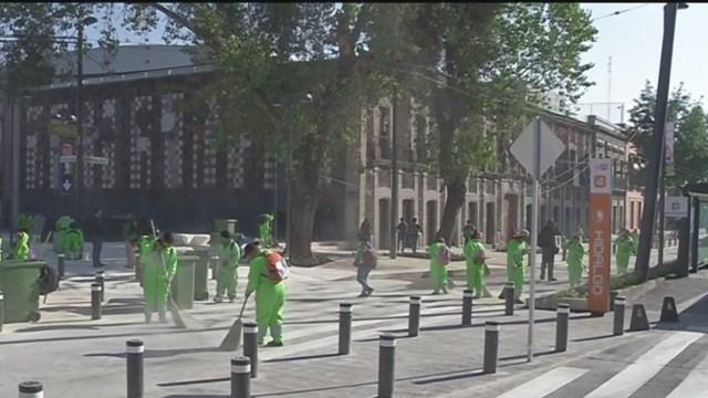 Foto Inauguran tras remodelación avenida Hidalgo en CDMX, 25 de enero de 2020 (Noticieros Televisa)