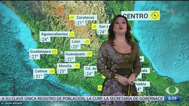 clima al aire frente frio 31 provocara lluvias en la republica mexicana