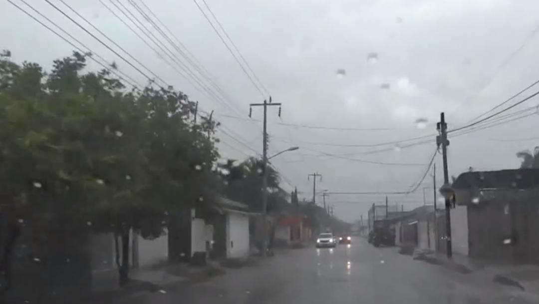 FOTO Pronostican lluvias intensas en occidente de México por frente frío y tormenta invernal (Noticieros Televisa)