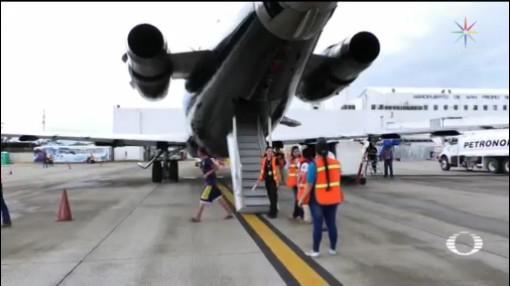 Foto: Deportación Migrantes Aviones Guardia Nacional Honduras 21 Enero 2020