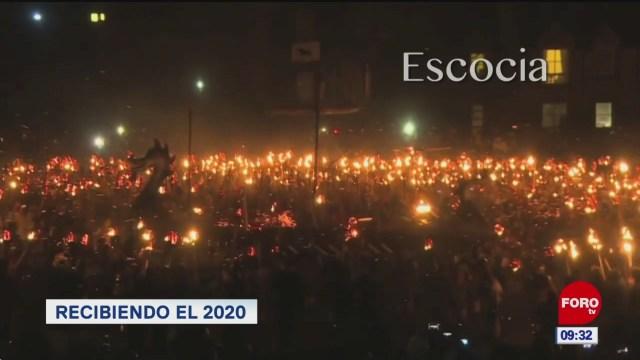 FOTO: como celebraron la llegada del 2020 en el mundo