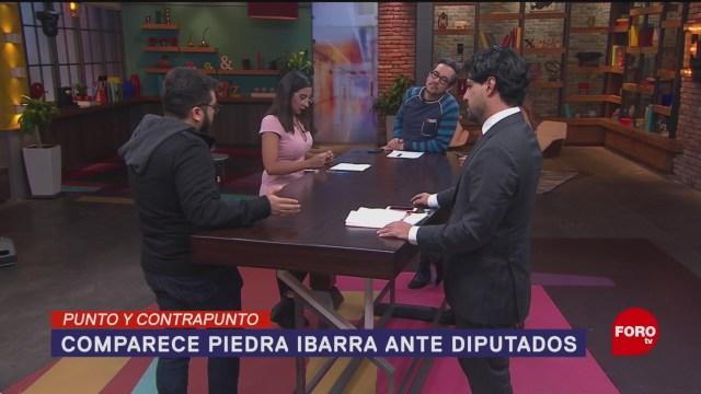 Foto: Comparecencia Rosario Piedra Ibarra Comisión Permanente Congreso 23 Enero 2020