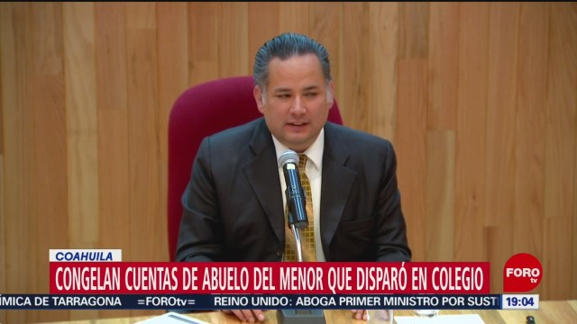 Foto: Congelan Cuentas Abuelo Niño Tiroteo Torreón 14 Enero 2020