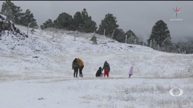 Foto: Nevadas Norte País Frente Frío Continuarán 30 Enero 2020