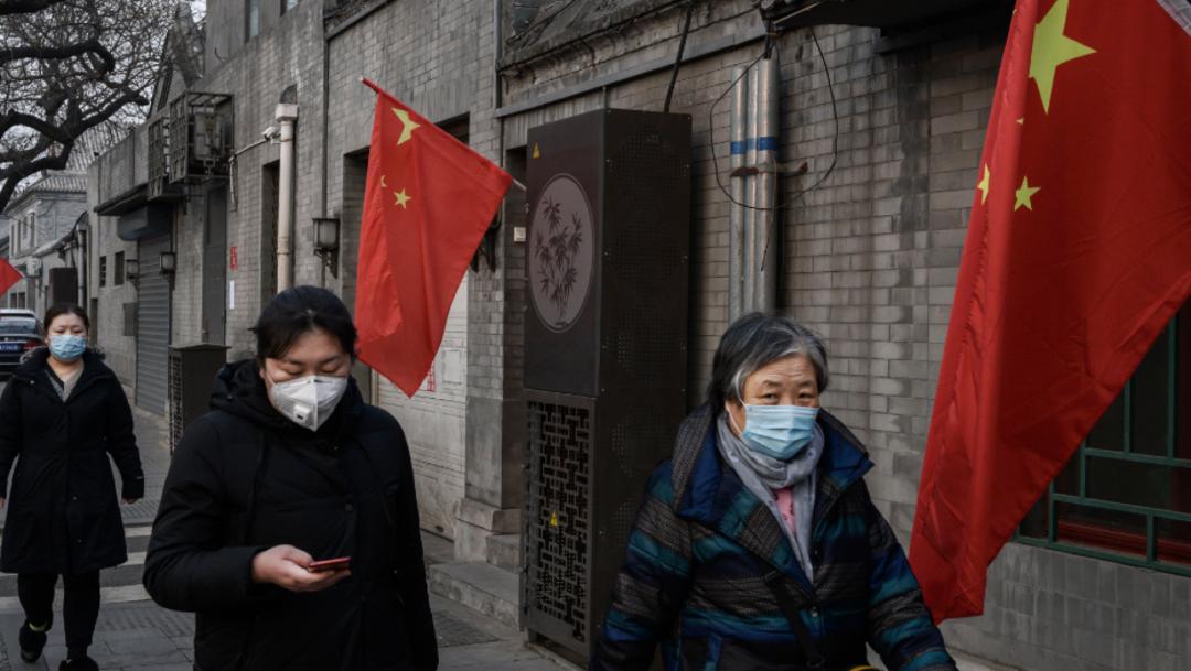 """FOTO México repatría a ciudadano que residía en Wuhan """"en perfectas condiciones""""; en la imagen, calles de China (Getty Images)"""