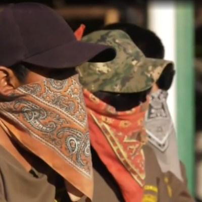 Niños armados en Guerrero continúan sin asistir a clases