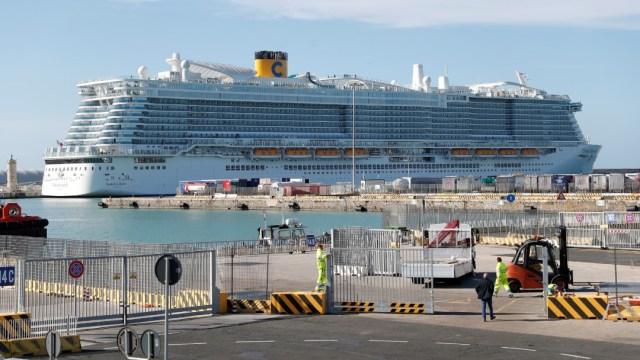Foto: Crucero procedente de Espala es bloqueado en Italia por sospecha de coronavirus