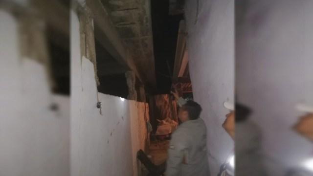 Foto: Elementos de Protección Civil en Oaxaca recorrieron las zonas donde se reportaron daños por el sismo, 5 enero 2019