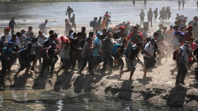 Foto: Defiende AMLO actuación de Guardia Nacional frente a migrantes en frontera sur