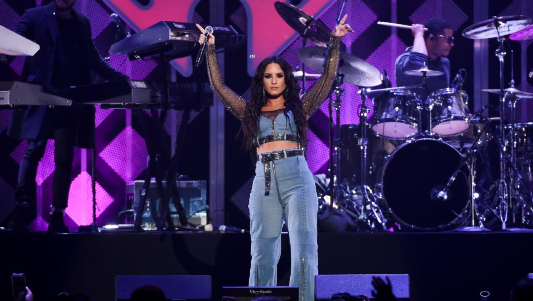 Foto: La cantante Demi Lovato en el Madison Square Garden, 16 enero 2020