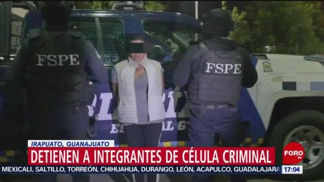 FOTO: 19 enero 2020, desarticulan a celula criminal grupo elite en guanajuato