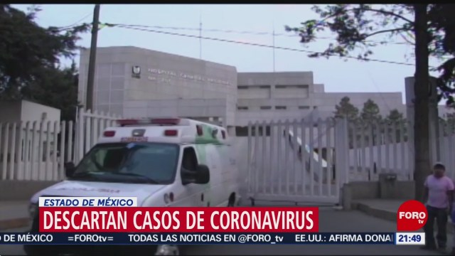 Foto: Casos Coronavirus Mexico Edomex Descartados 29 Enero 2020