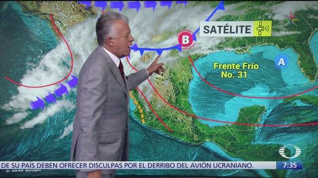 despierta con tiempo frente frio 31 provoca lluvias aisladas al norte de mexico
