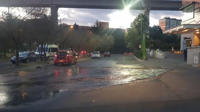 Después de 30 horas, reparan fuga de agua en Santa Fe