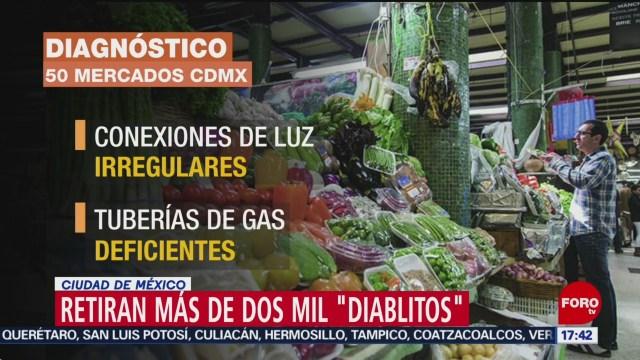 FOTO: detectan diablitos en mercados de la cdmx