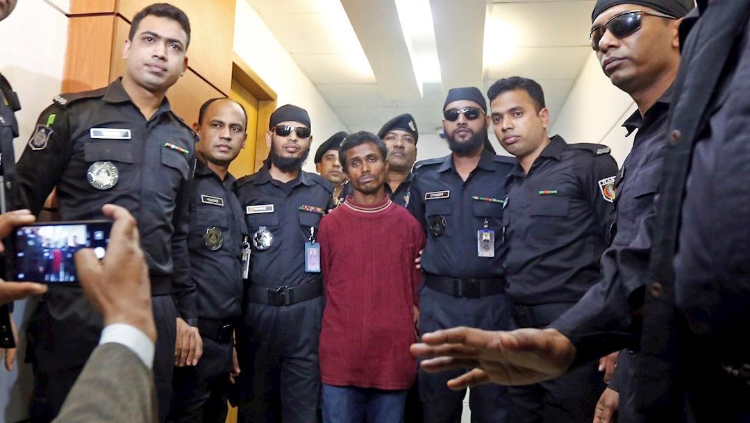 Foto: Bangladesh arresta a un violador serial tras las protestas por el ataque a una estudiante, 8 enero 2019
