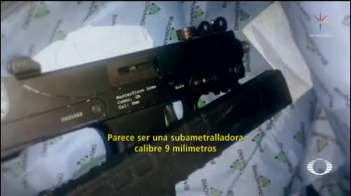Foto: Detienen Menor Subametralladora Escuela Nuevo León 29 Enero 2020