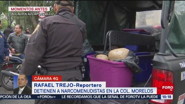 FOTO: 19 enero 2020, detienen a narcomenudistas en la colonia morelos cdmx
