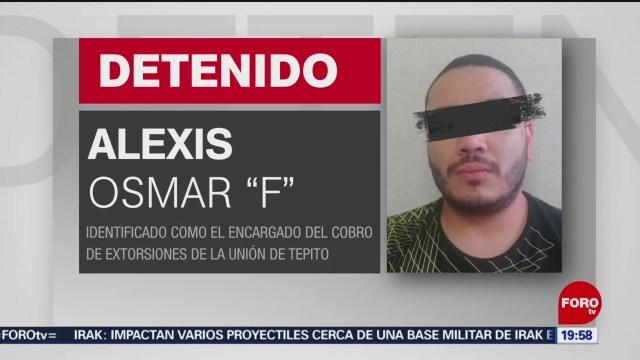 Foto: Detienen Osmar Presunto Extorsionador Cdmx 14 Enero 2020