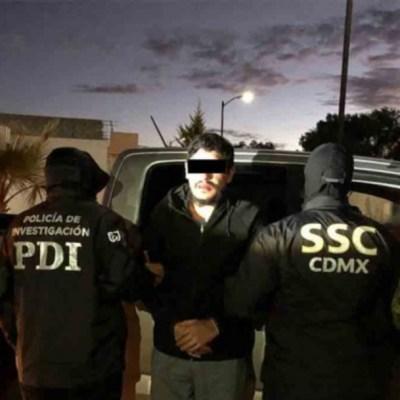 """Detienen a """"El Lunares"""", líder operativo de La Unión Tepito, en Hidalgo"""