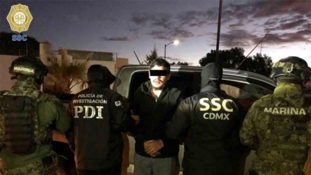 """FOTO Detienen a """"El Lunares"""", líder de La Unión Tepito, en Hidalgo (SSC)"""