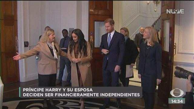FOTO: duques de sussex se independizan de la realeza britanica