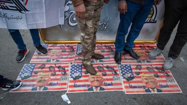 Foto: Ejército de EE.UU. continúan entrenando a tropas iraquíes