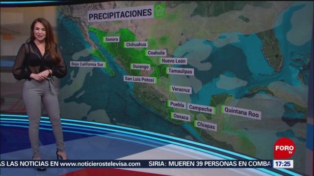 FOTO: clima con mayte carranco del 16 de enero de