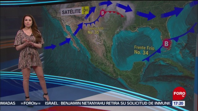 FOTO: el clima con mayte carranco del 28 de enero del