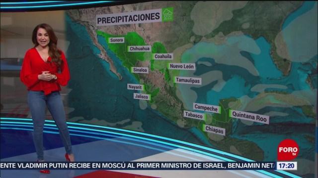 FOTO: clima con mayte carranco tarde del 30 de enero de