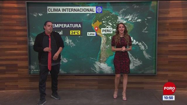 el climaenexpreso internacional del 28 de enero del