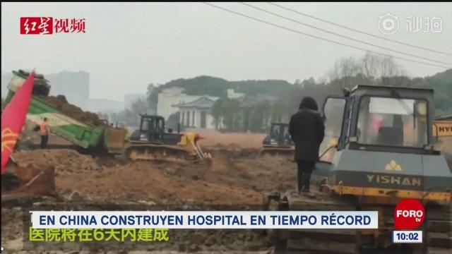elrincondeexpreso en china construyen hospital en tiempo record
