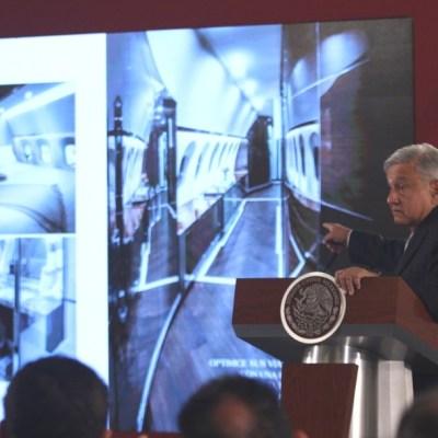 Estas son las 5 propuestas de AMLO para vender el avión presidencial