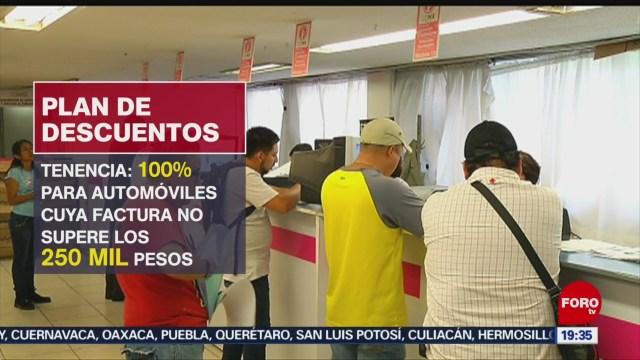 Foto: Descuentos Pago Anticipado Tenencia Predial Cdmx 6 Enero 2020