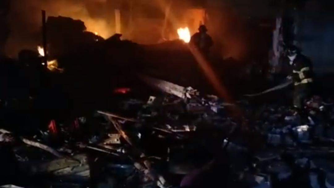 FOTO Explosión de pirotecnia deja 1 muerto y 3 heridos, incluido un bebé (SSP Yucatan)