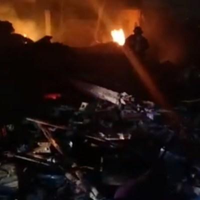 Explosión de pirotecnia deja 1 muerto y 3 heridos, incluido un bebé en Yucatán