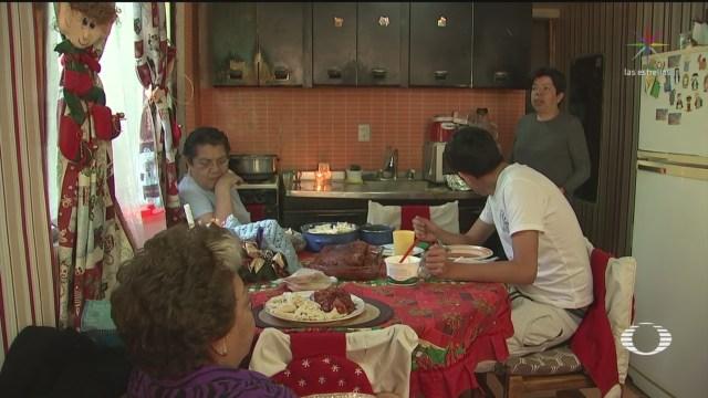 FOTO: 1 enero 2020, familias mexicanas disfrutan del recalentado en la cdmx