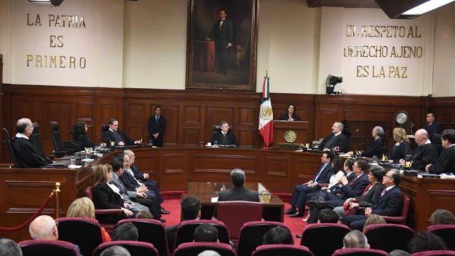 Foto: Pleno de la Suprema Corte de Justicia de la Nación (SCJN).