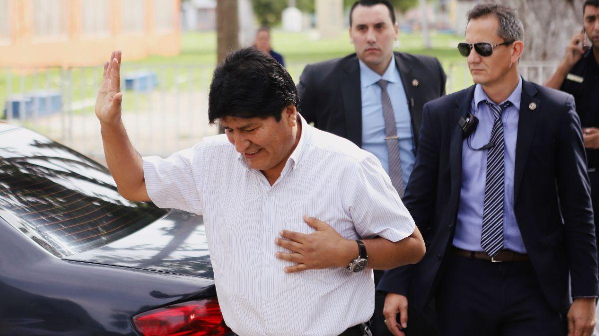 FOTO: El Parlamento boliviano acepta la renuncia de Evo Morales dos meses después , el 21 de enero de 2020