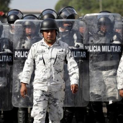 México no tolerará provocaciones de caravanas migrantes: Ebrard