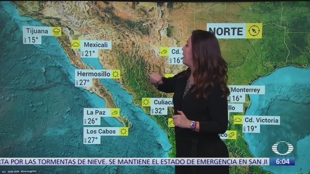 frente frio 32 provocara lluvias en veracruz oaxaca y chiapas
