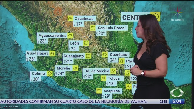 frente frio 34 provocara lluvias en el oriente y sureste de mexico
