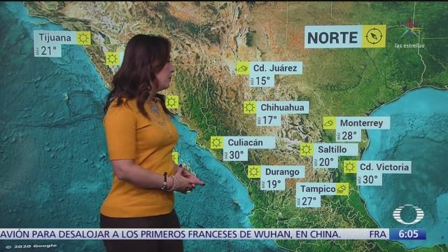 frente frio 35 provocara tormentas en oaxaca y veracruz
