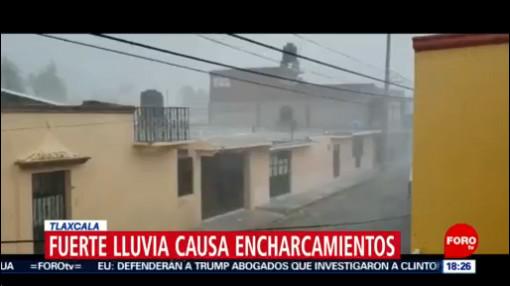 FOTO: 18 enero 2020, fuerte lluvia causa encharcamientos en tlaxcala