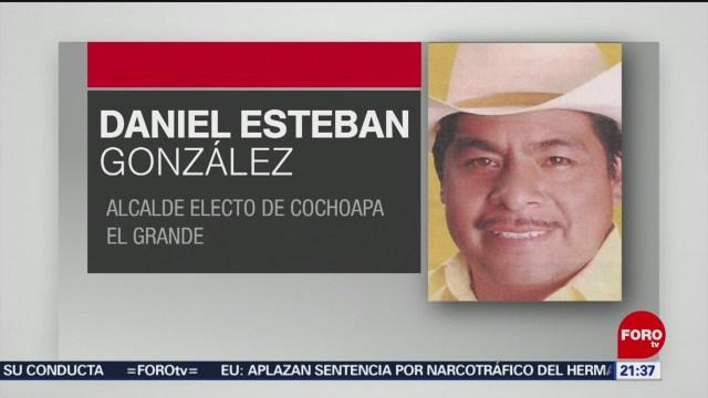 Foto: Alcalde Electo Cochoapa Guerrero Hallan Cuerpo 8 Enero 2020
