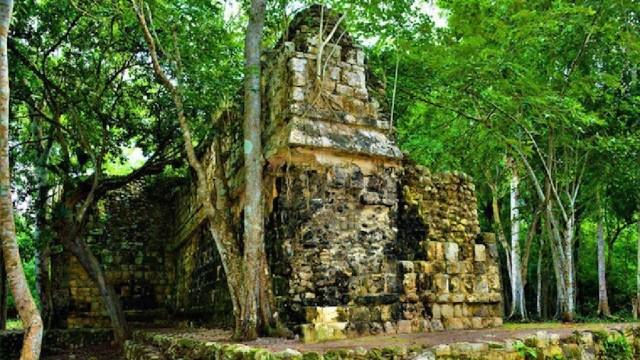 Hallan vestigios del Palacio Maya Kulubá en Yucatán