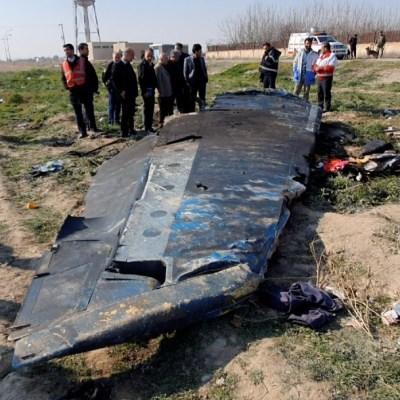 Irán envía a Francia las cajas negras del avión ucraniano derribado