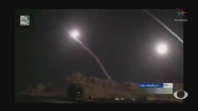 Foto: Irán Lanza Ataques Bases Estadounidenses Irak 7 Enero 2020