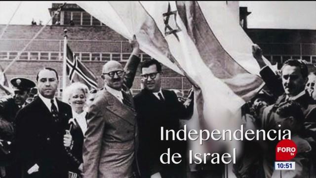 FOTO: la independencia de israel