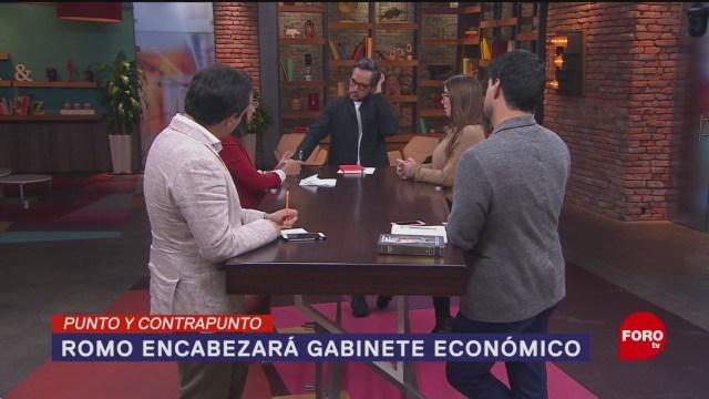 Foto: Alfredo Romo Misión Nuevo Gabinete Económico 30 Enero 2020